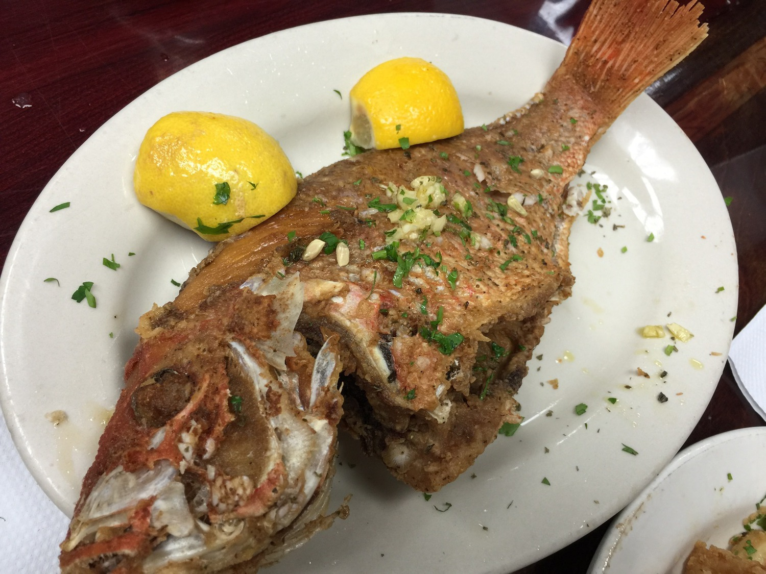 Astoria Seafood Fish Market Turned Greek Restaurant