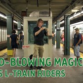Mind-Blowing Blind Magician Wows L Train Riders
