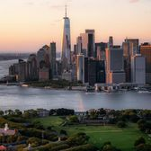 Governors Island and Lower Manhattan