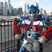 New York's Real Life Transformer Robot