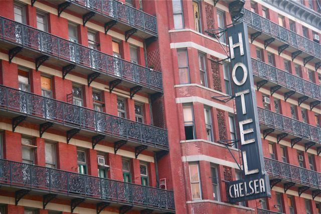Buy a celebrity 39 s door from hotel chelsea dalek and buff for Buying apartment in nyc