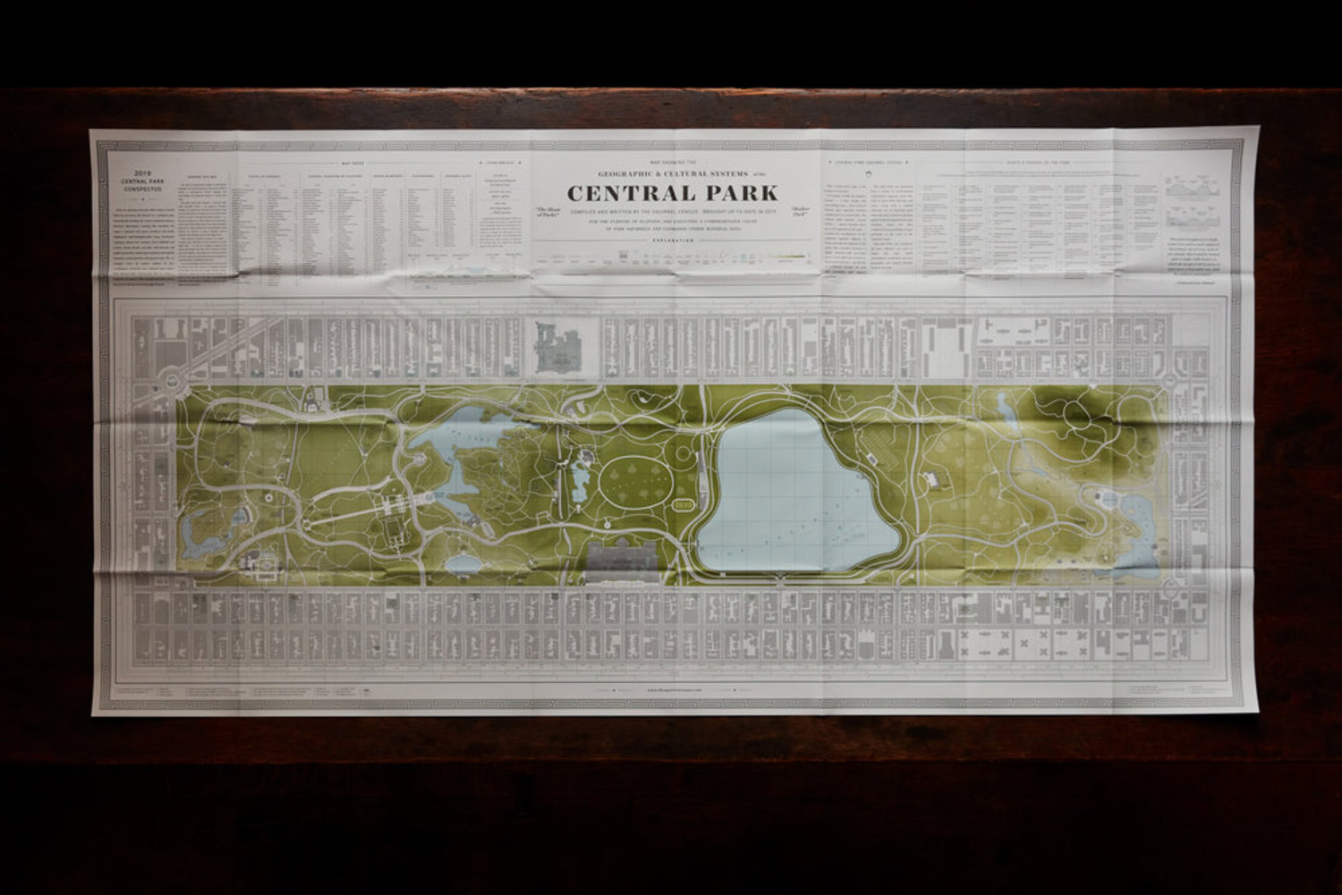 The Squirrel Census, Central Park Map