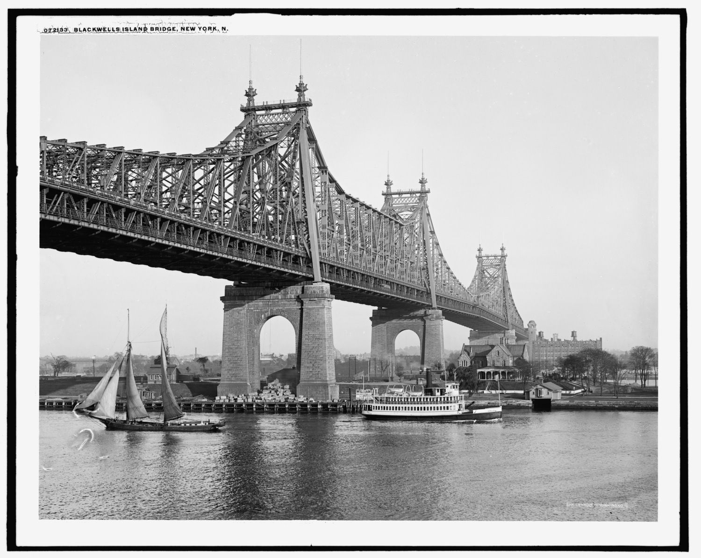 Blackwell's Island [i.e. Queensboro] Bridge, New York, N.Y.