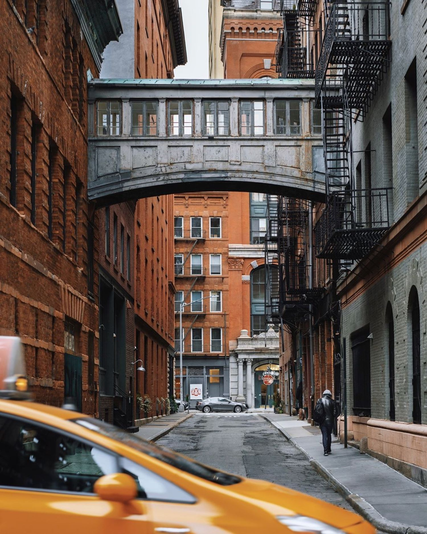Staple Street Bridge, Tribeca, New York