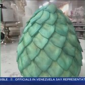 NYC Bakery Offers 'GOT' Dragon Egg Cake
