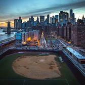 Murry Bergtraum Softball Field, Two Bridges, Manhattan