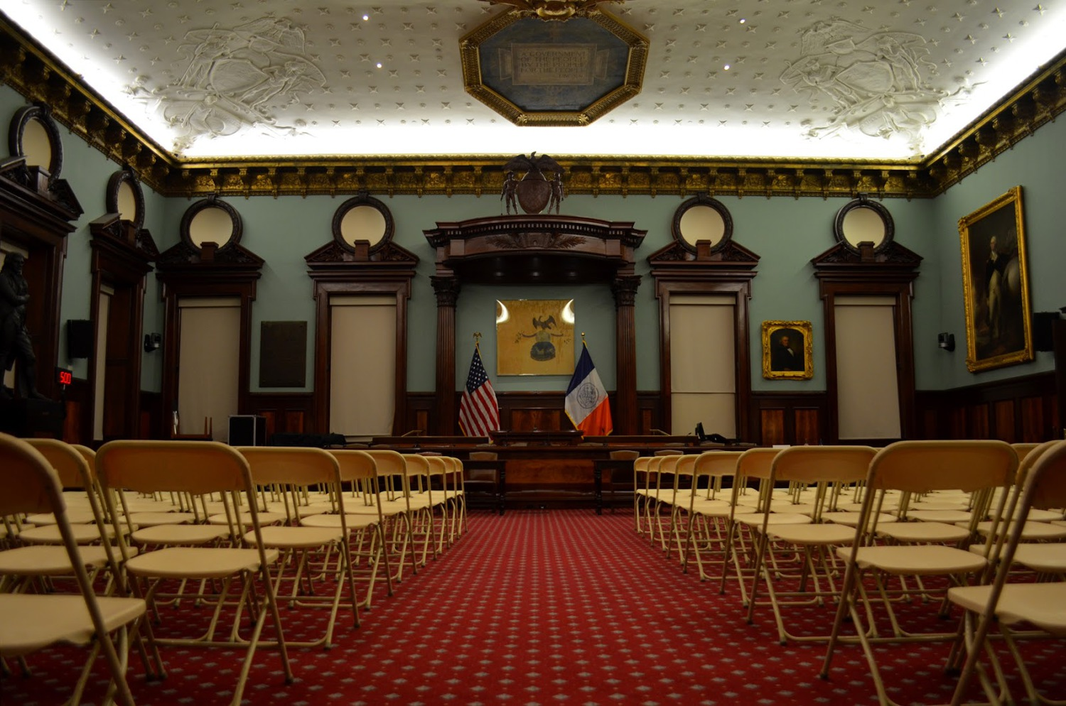 Also, if one feels politically motivated, you may take part in Council meetings in the Hall's Council Chambers.