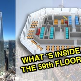 What's inside One World Trade Center's structure?