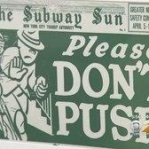 Subway Etiquette Exhibit