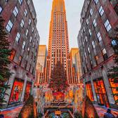 Rockefeller Center Christmas Tree, New York, New York