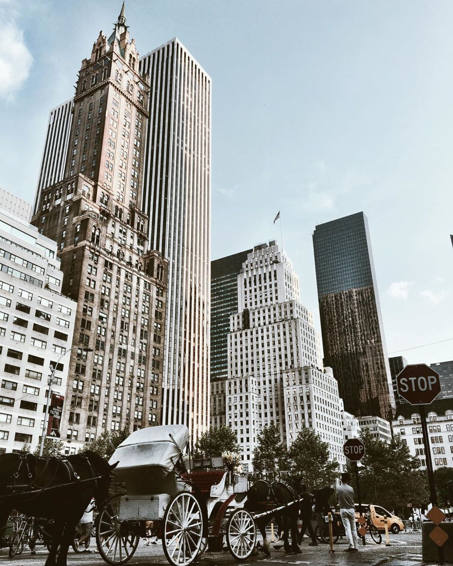 59th St and 5th Avenue, Central Park, Manhattan