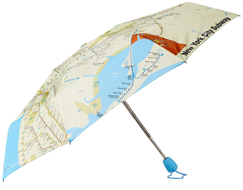 M.T.A. Folding Umbrella
