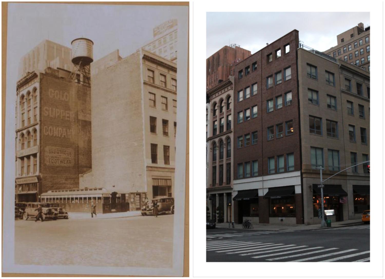 Church street, NW corner of Duane st. (P.L. Sperr, 1931). February 11, 1931 // July 4, 2017