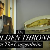 The Golden Throne at the Guggenheim