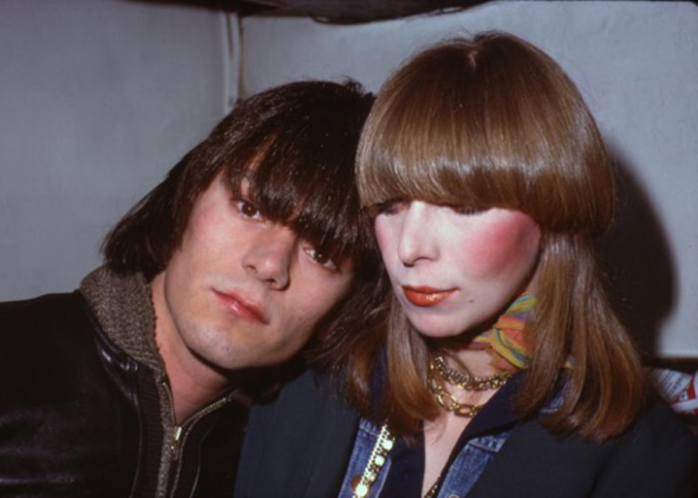 Paul Zone, Dee Dee Ramone & Connie Gripp 1975.