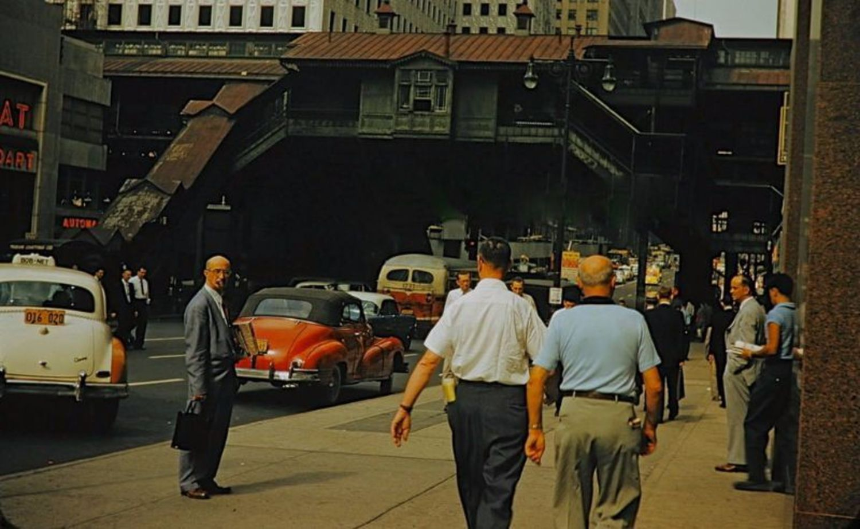 42nd Street & 3rd Avenue, 1955