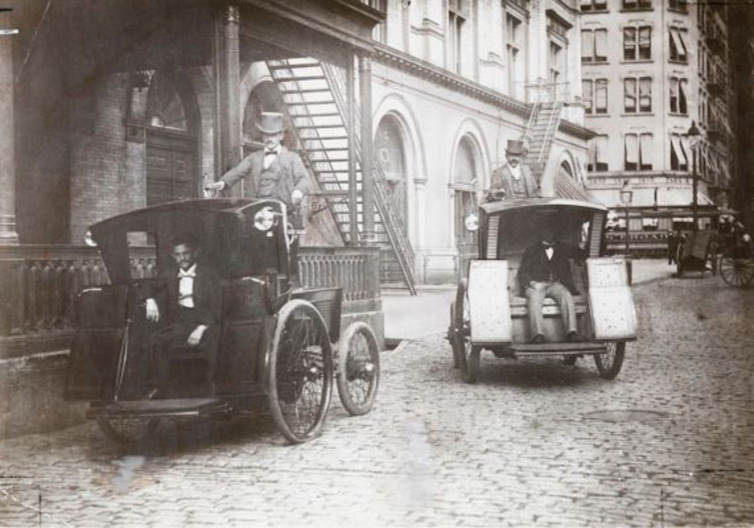 Electric cabs of the late 19th century: A failed experiment