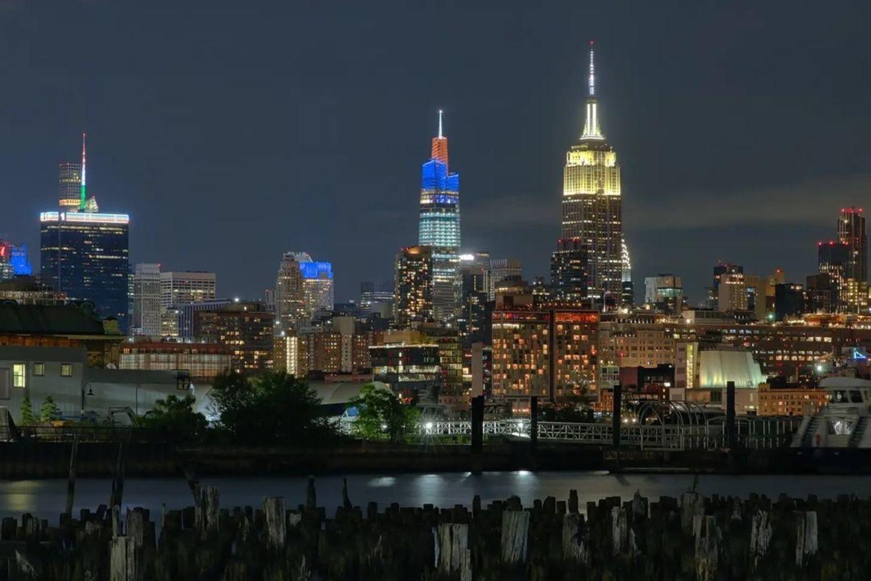 Midtown Manhattan Skyline from Jersey City, New Jersey