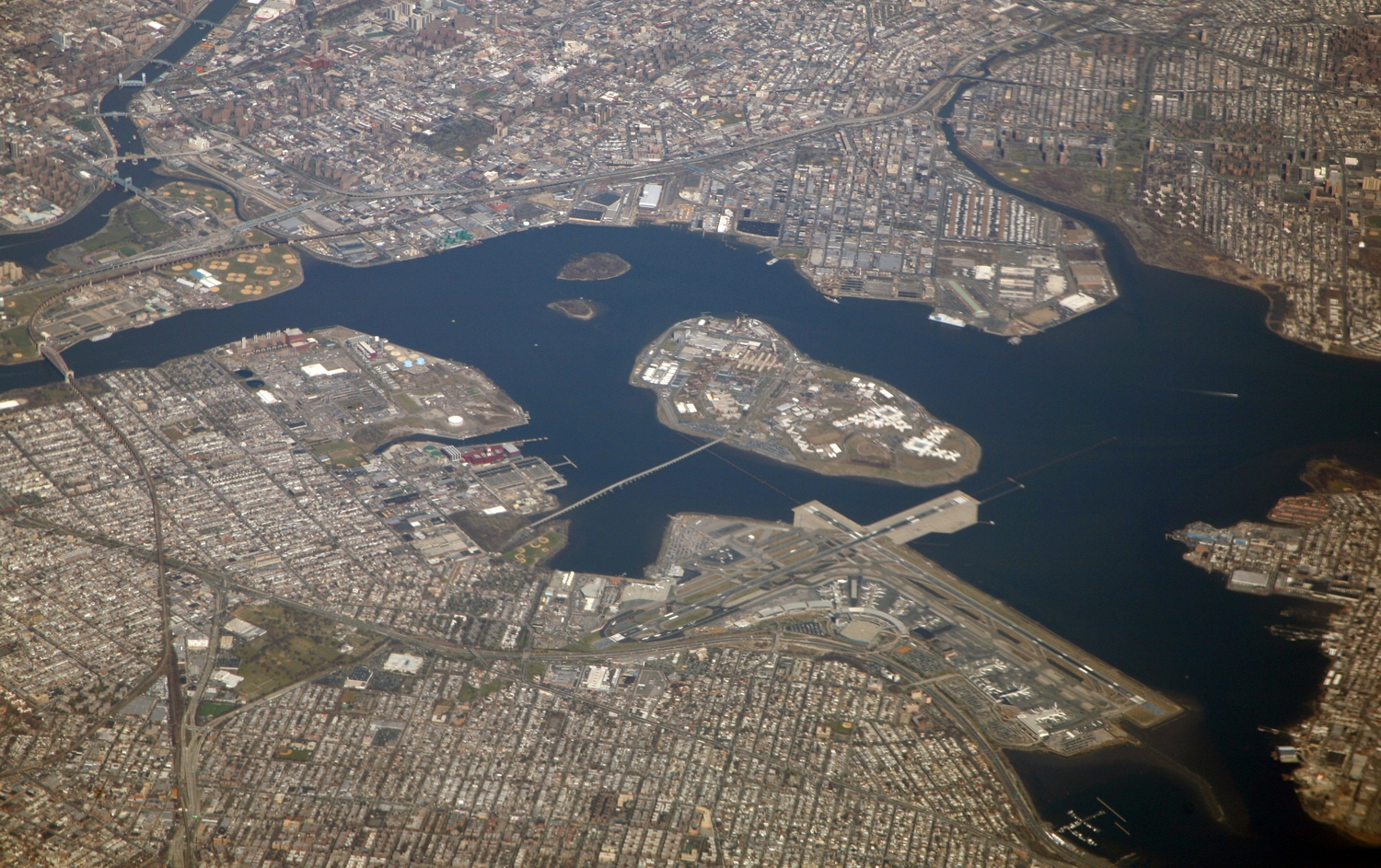 An Aerial of Rikers Island
