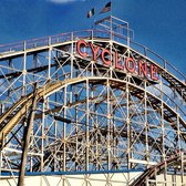 Coney Island Cyclone Review Luna Park, New York City Roller Coaster