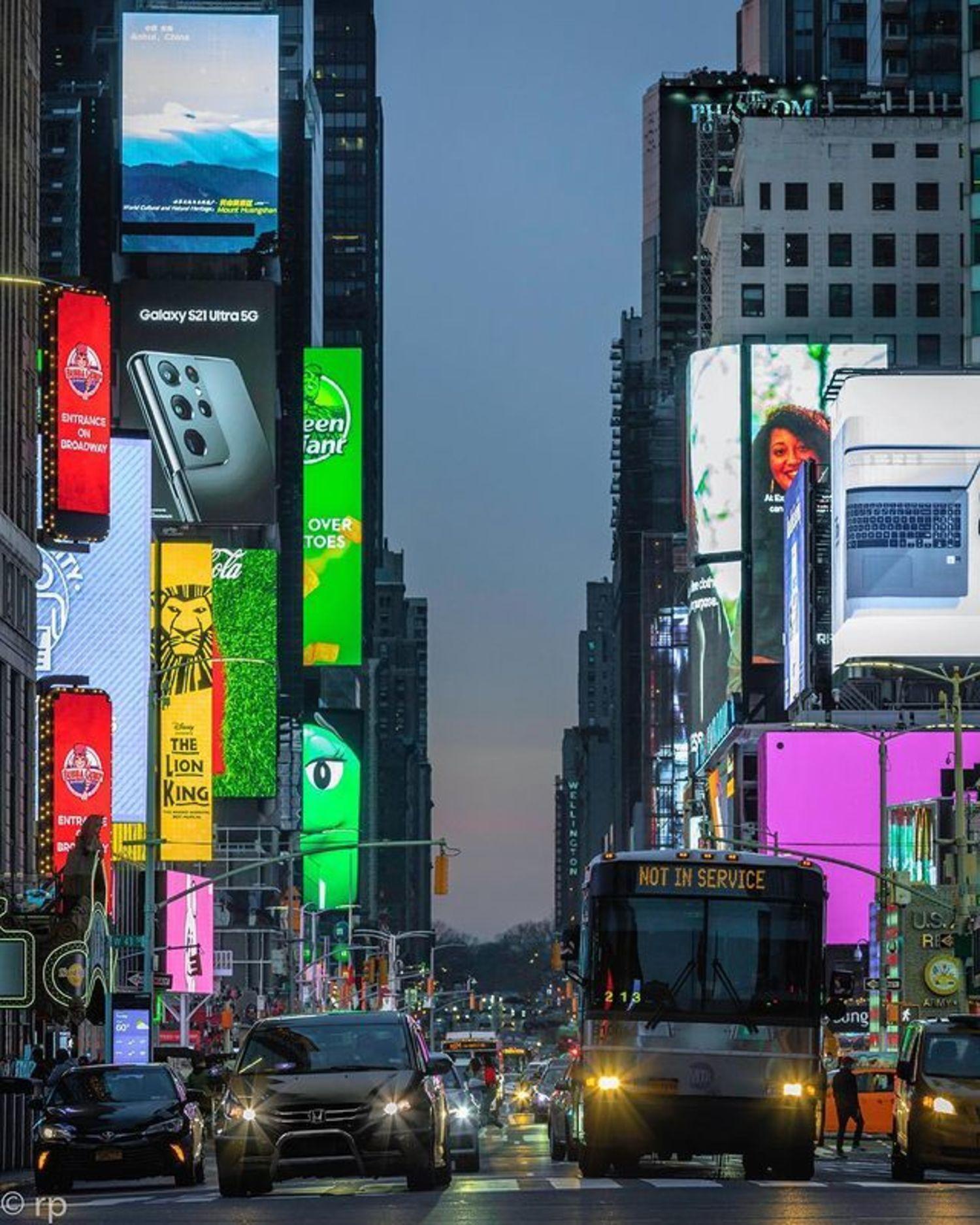 7th Avenue, Times Square, Midtown, Manhattan