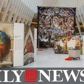 Michelangelo's Sistine Chapel comes to the Oculus