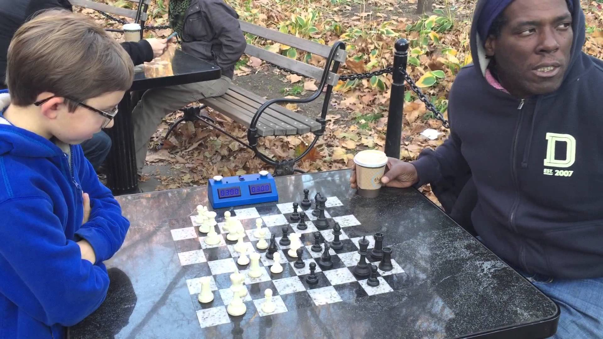 Watch This 13-Year-Old Beat a Chess Hustler in Washington