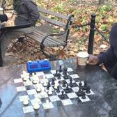 Washington Square Chess Hustling - John Beats Cornbread TWICE