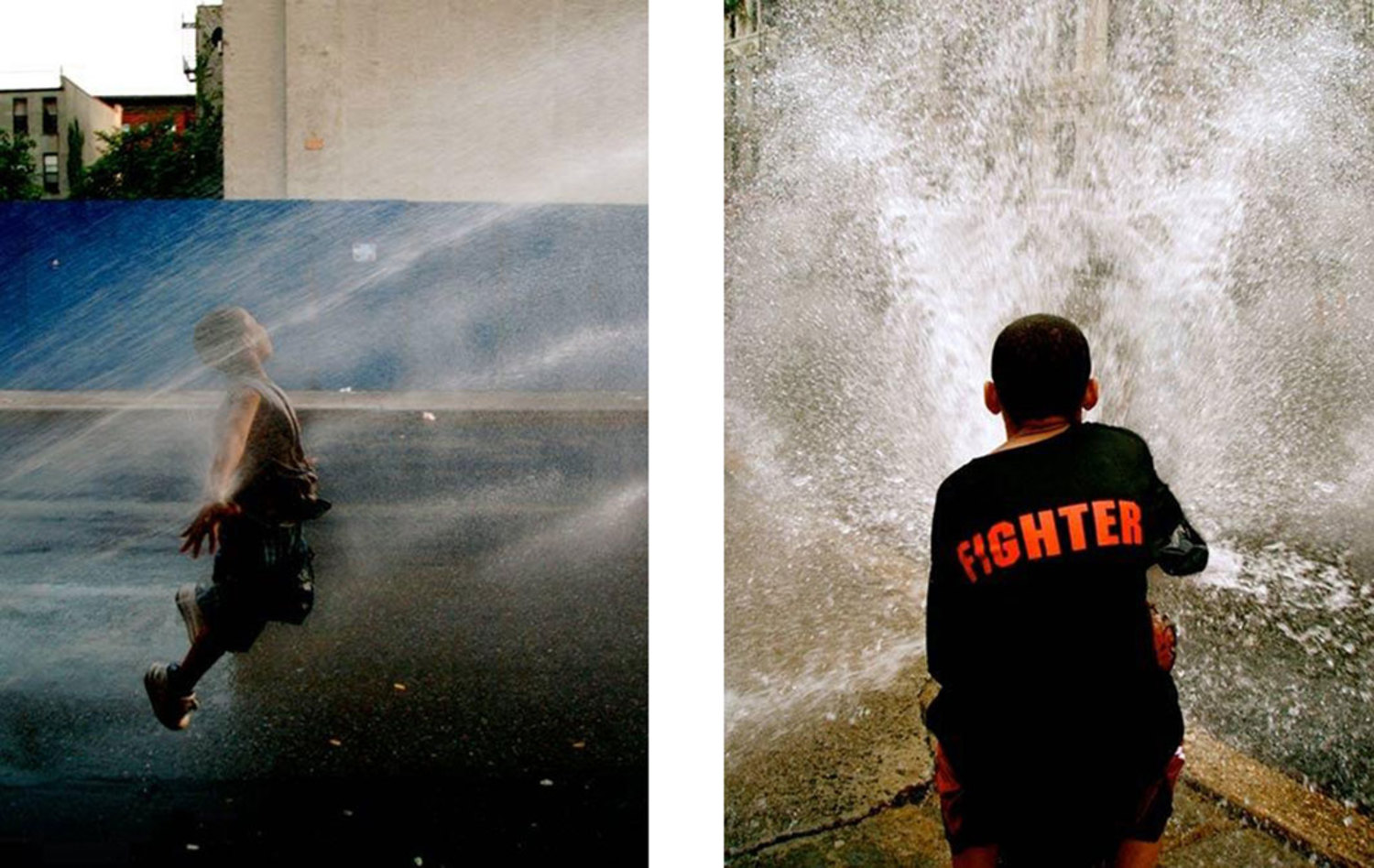 Left: Exuberance, Harlem, 2007. Right: The Fighter, Harlem, 2007.