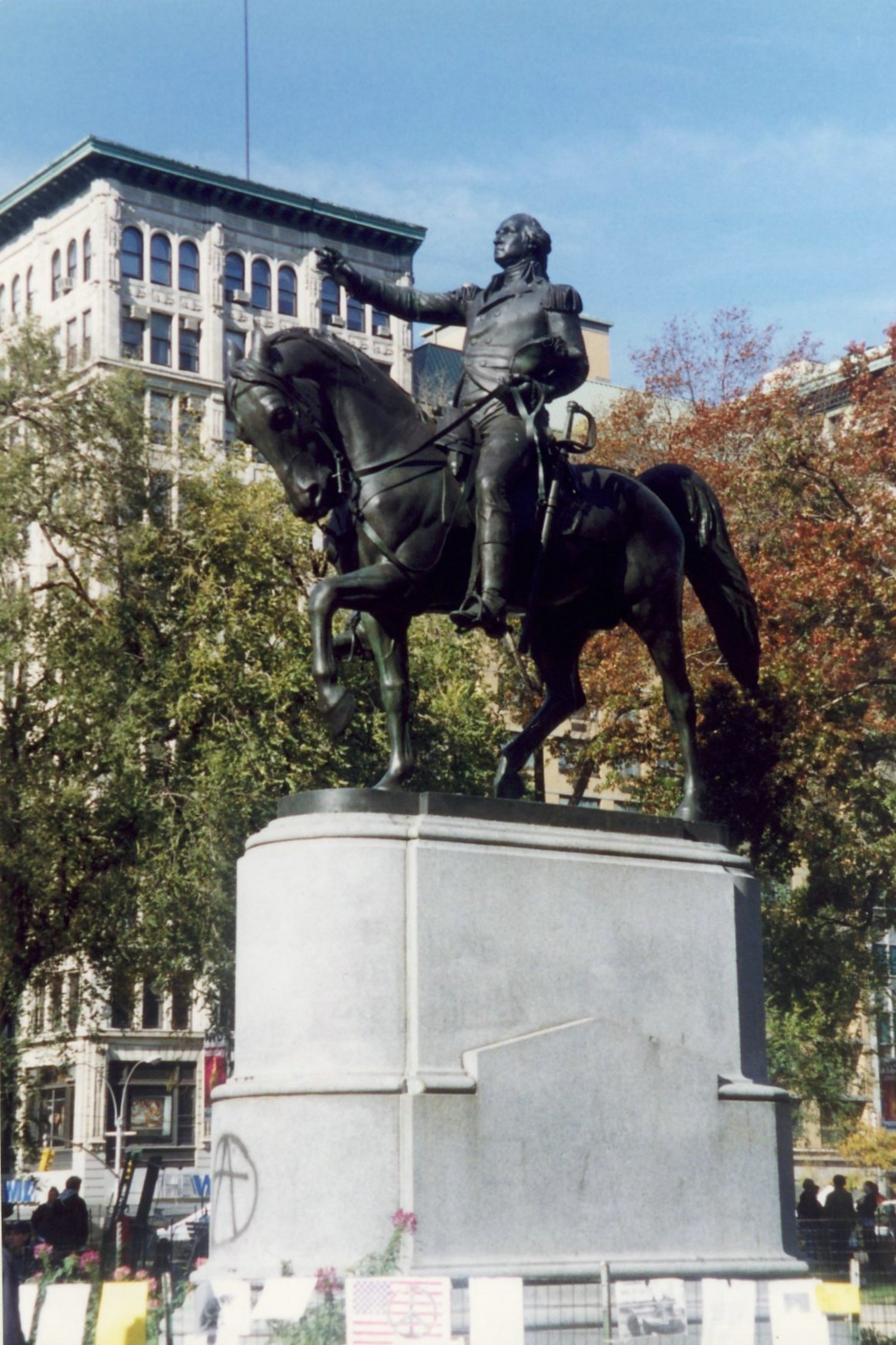 NYC: Union Square - General George Washington Statue