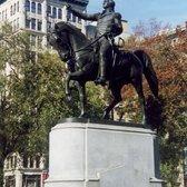 NYC: Union Square - General George Washington Statue