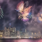 """Brooklyn Bridge Park on July 4th"""