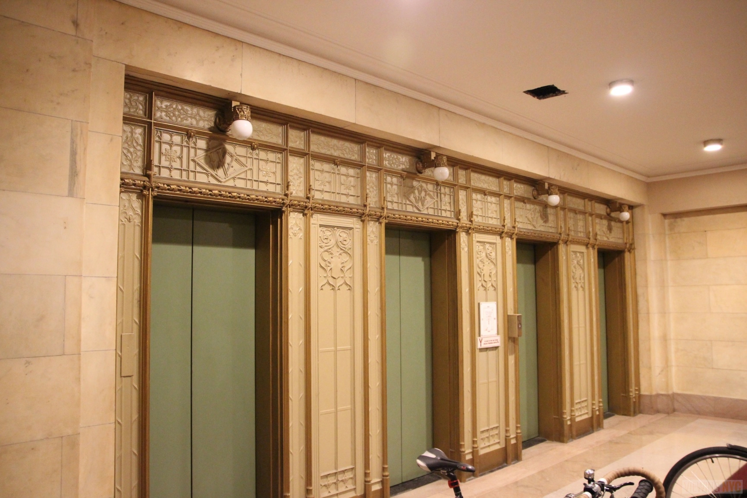 Woolworth Building Lobby and Basement Tour 37