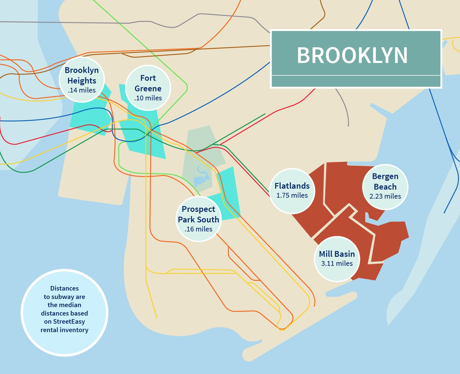 Brooklyn Heights Subway Map.Here Are The New York City Neighborhoods That Have The Best And