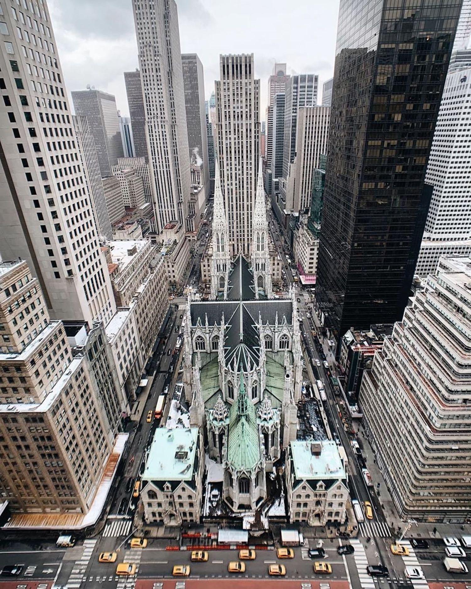 St. Patrick's Cathedral, Midtown, Manhattan.
