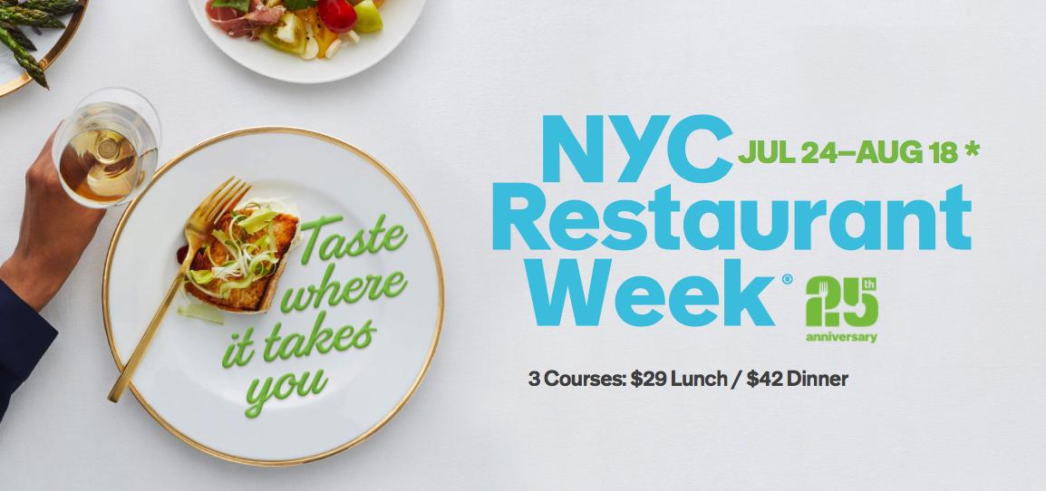 Nyc Restaurant Week 2017 Viewing Nyc