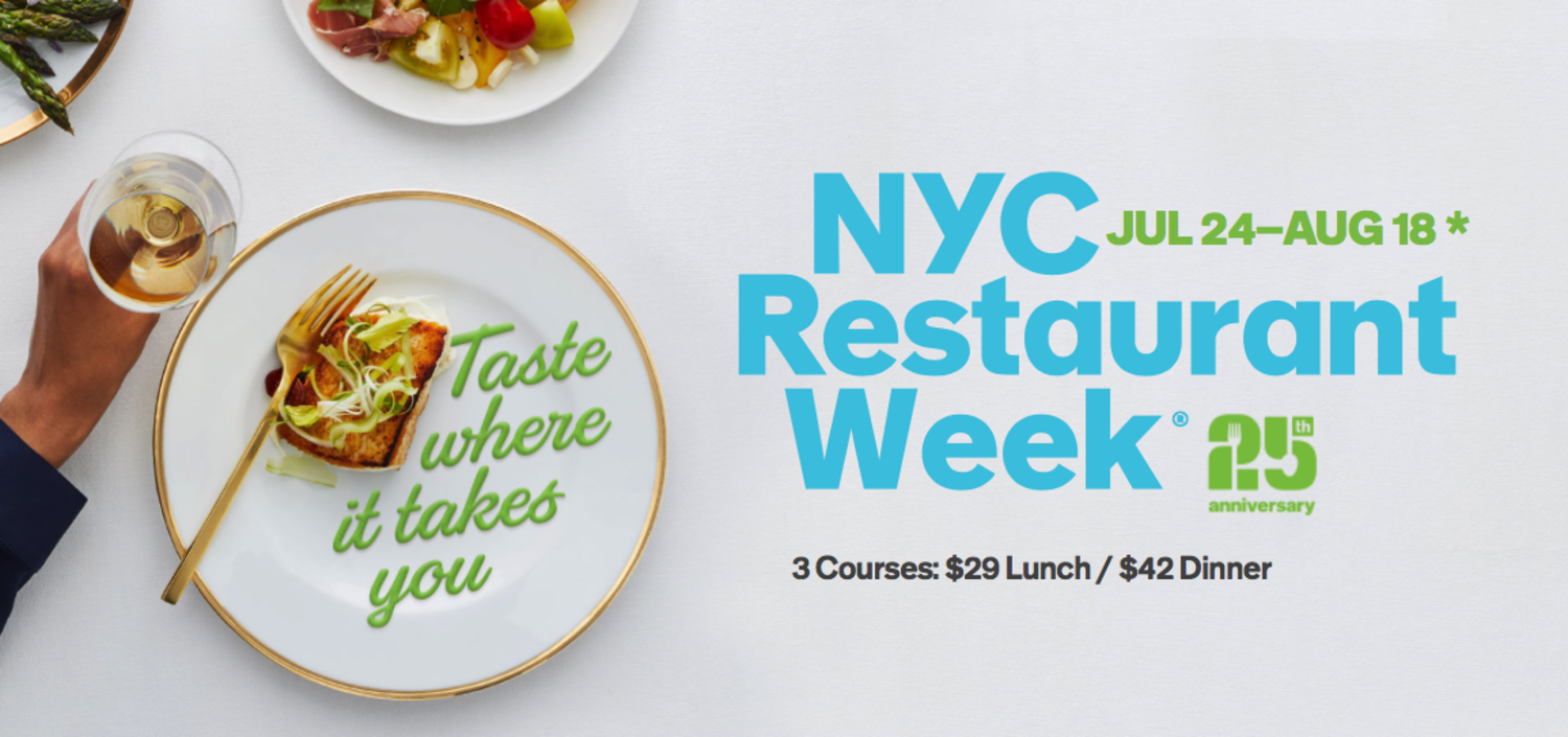 NYC Restaurant Week 2017