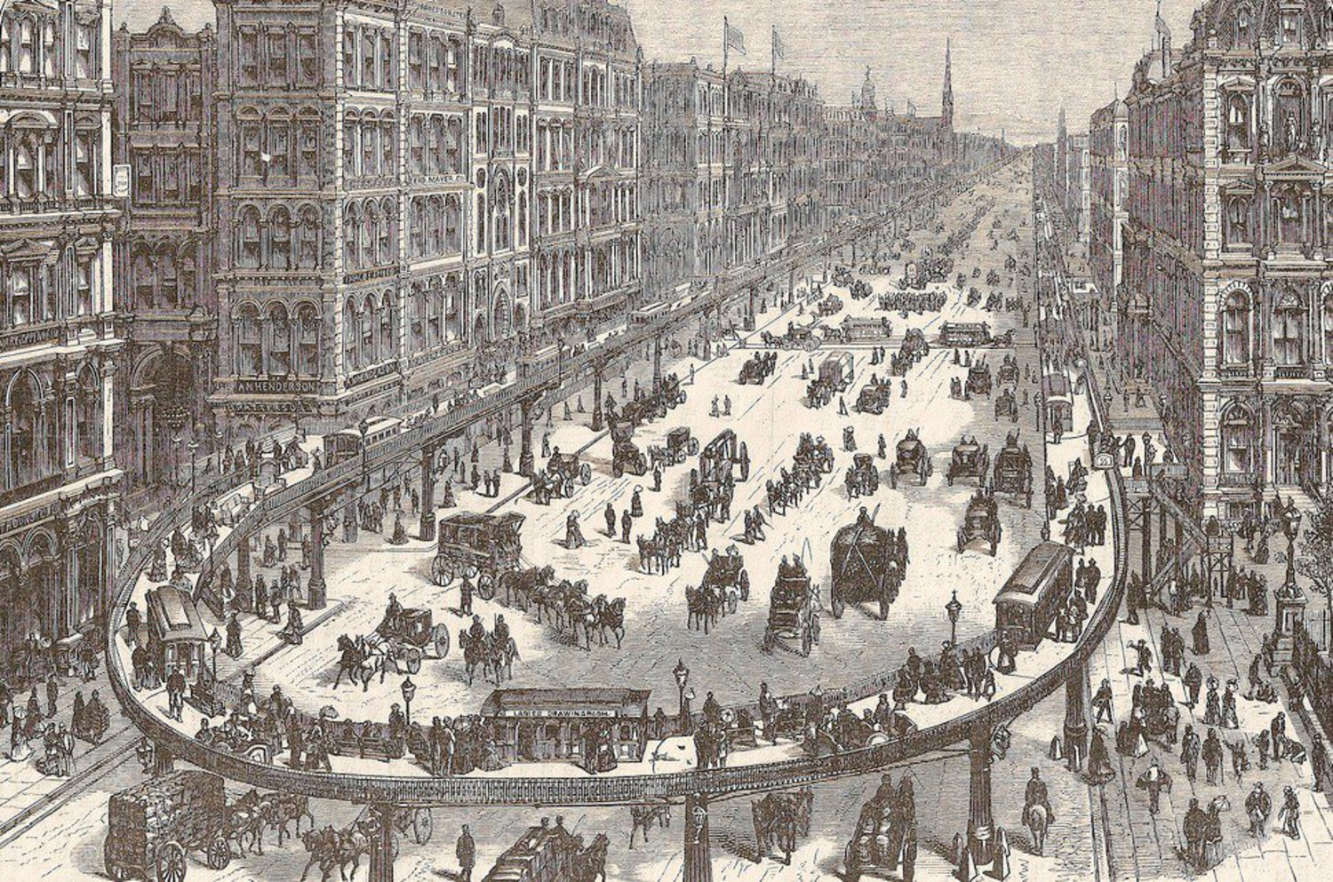 In 1872, Broadway Almost Became a Giant Moving Sidewalk