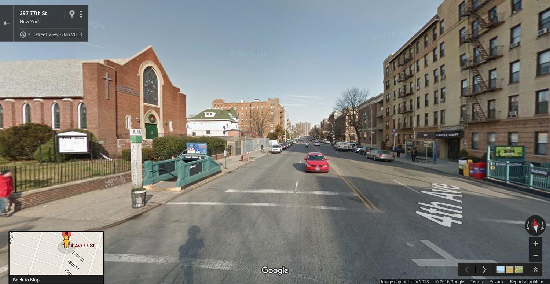 2016. Streetview image via Google