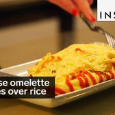 This Japanese omelette explodes over a bed of rice