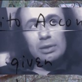 Vito Acconci | Where We Are Now (Who Are We Anyway?)