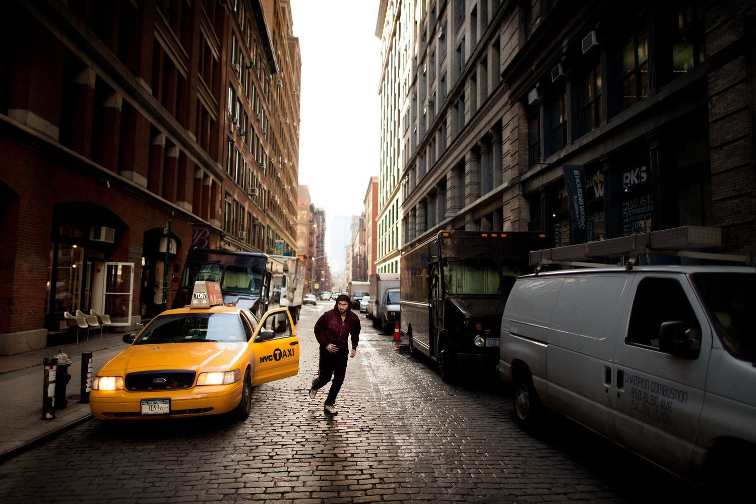 Crosby Street Taxi Driver
