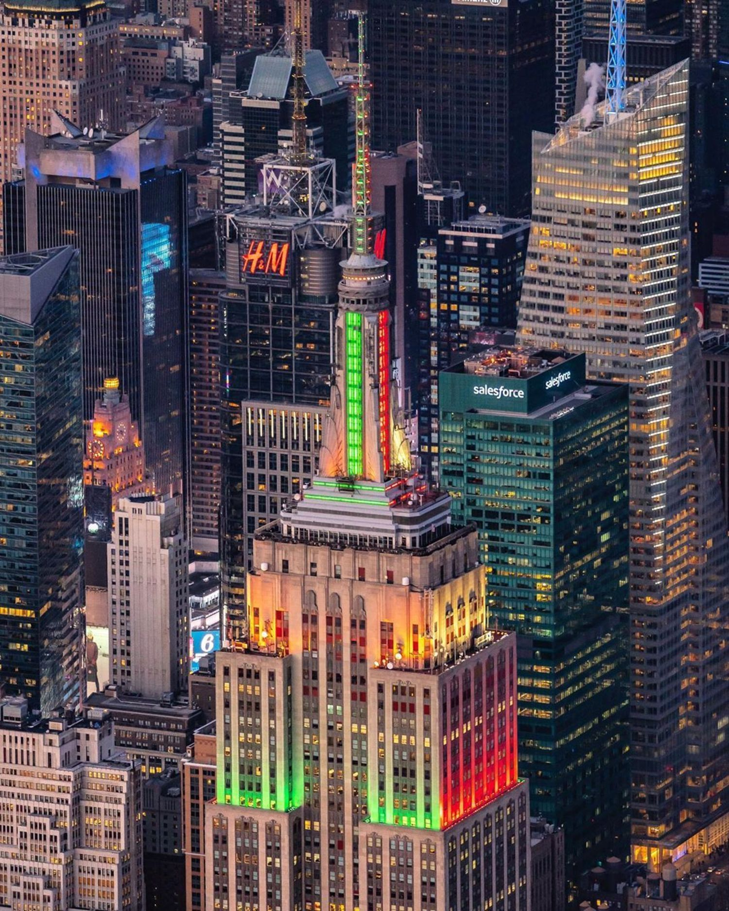 Empire State Building and Midtown, Manhattan