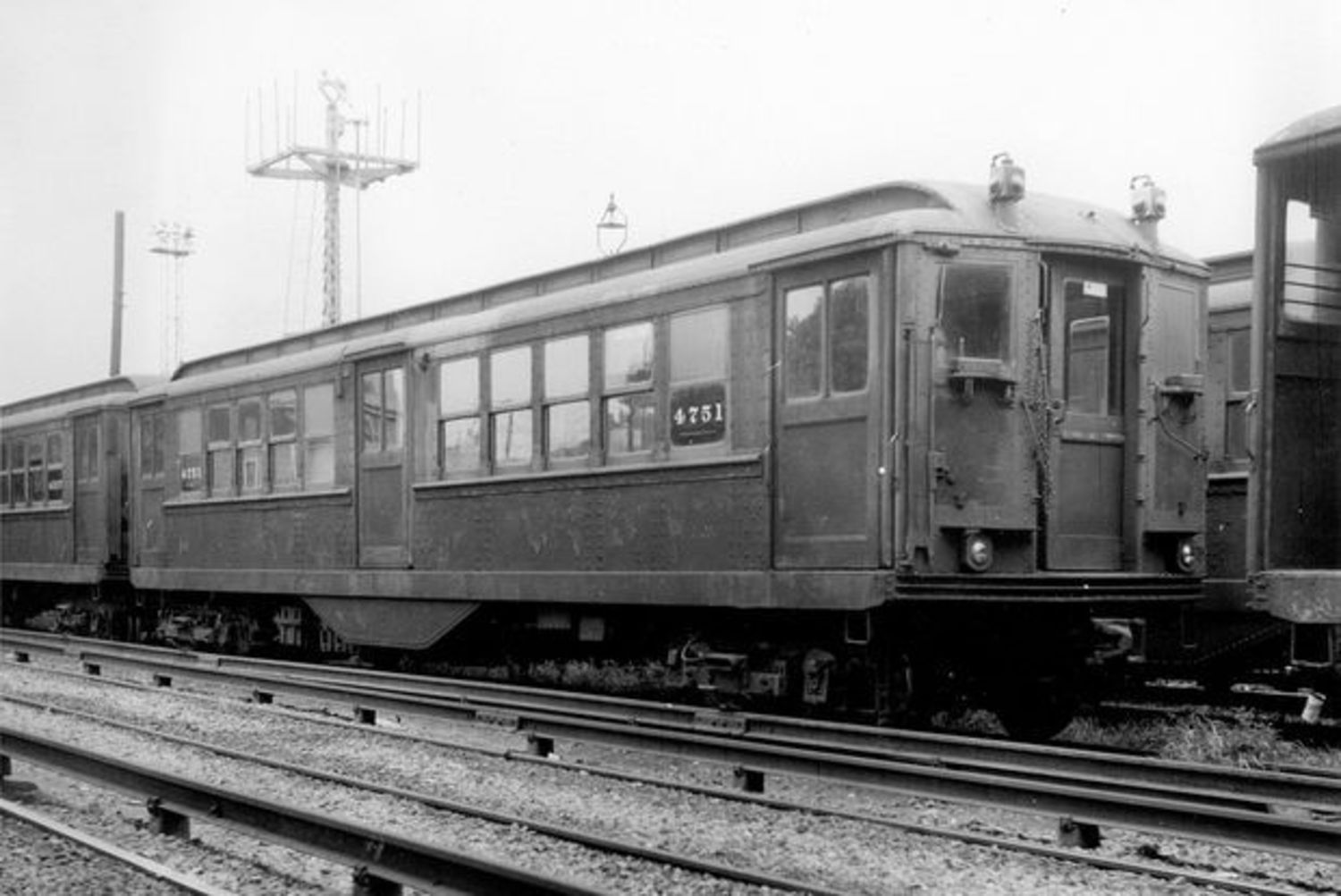 The IRT Steinway, LV Motor car #4751 built in 1916.