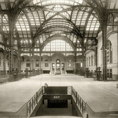 Interior of the original Pennsylvania Station's Main Concourse, ca. 1910