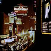 The lights of Times Square 1957