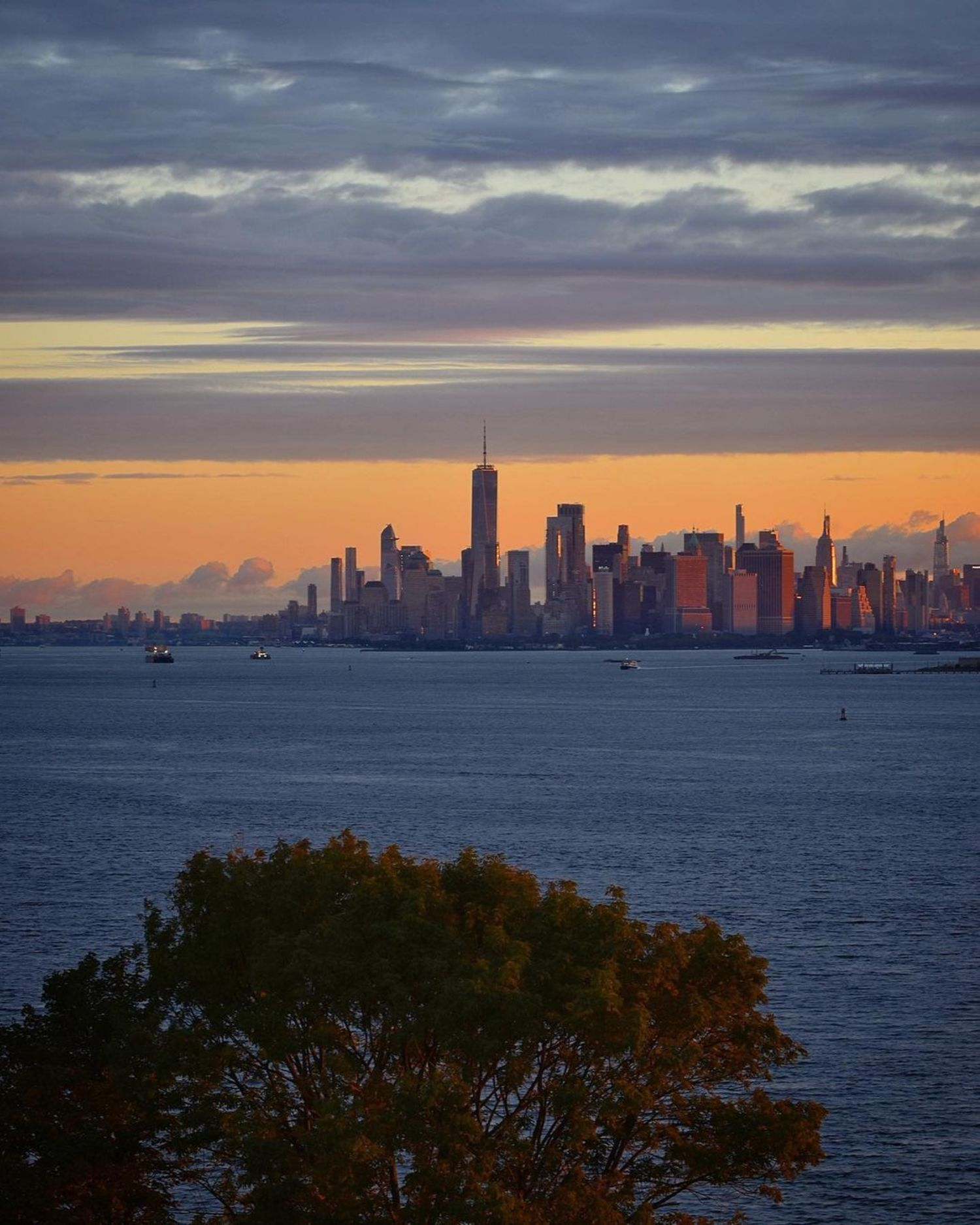 New York Harbor, New York