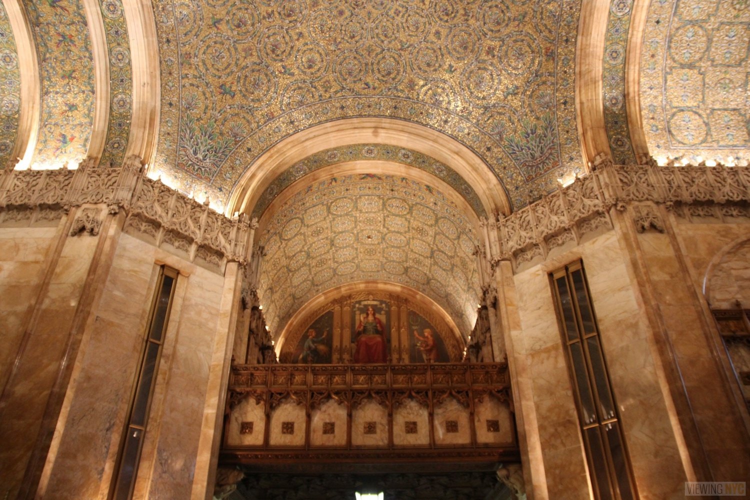 Woolworth Building Lobby and Basement Tour 19