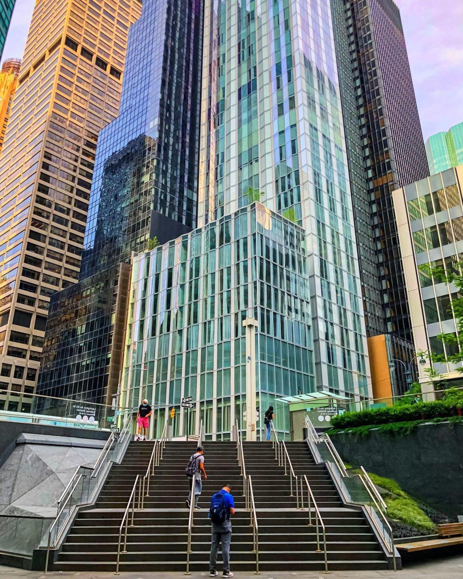 53rd Street and Lexington Avenue, Midtown East, Manhattan