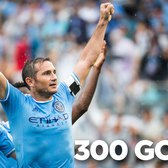 Frank Lampard scores his 300th goal